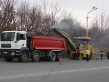 Ասֆալտ-բետոնյա ծածկի հիմնանորոգման աշխատանքներ Աճառյան և Մյասնիկյան փողոցներում